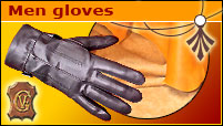 Men gloves - Without lining